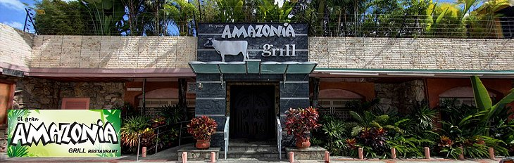Amazonia Grill Banner